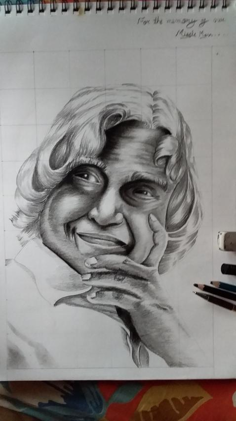 Abdul Kalam by Agnik